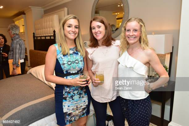 Robyn Davis Celena Weber and Lauren Franklin attend the Grand Opening Celebration of Williams Sonoma Home NYC with Guest CoHost Heather Clawson of...