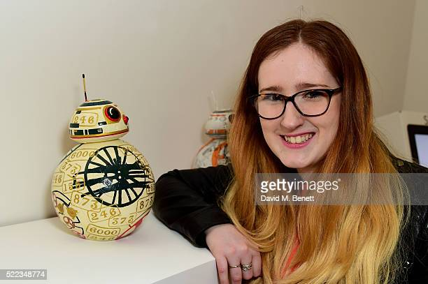 Robyn Drew attends the Star Wars The Force Awakens BB8 GREAT Exhibition and Auction in aid of Great Ormond Street Hospital Children's Charity on...