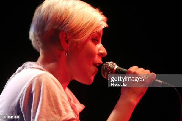 Robyn performing at Highline Ballroom on Tuesday night February 5 2008