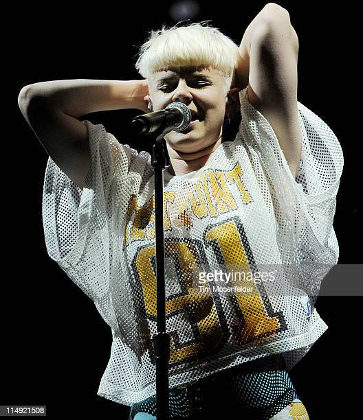 Robyn performs as part of the Sasquatch Music Festival at the Gorge Amphitheatre on May 28 2011 in George Washington