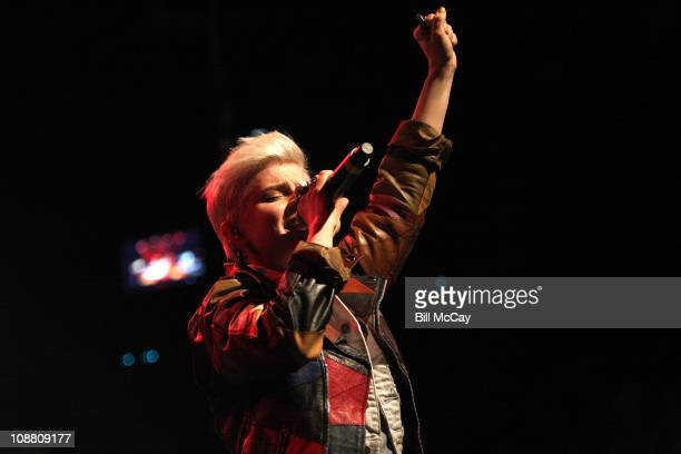Robyn performs at the Electric Factory February 3 2011 in Philadelphia Pennsylvania