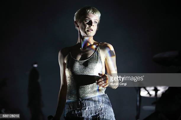 Robyn performs live on day 2 of Boston Calling festival at Boston City Hall Plaza on May 28 2016 in Boston Massachusetts