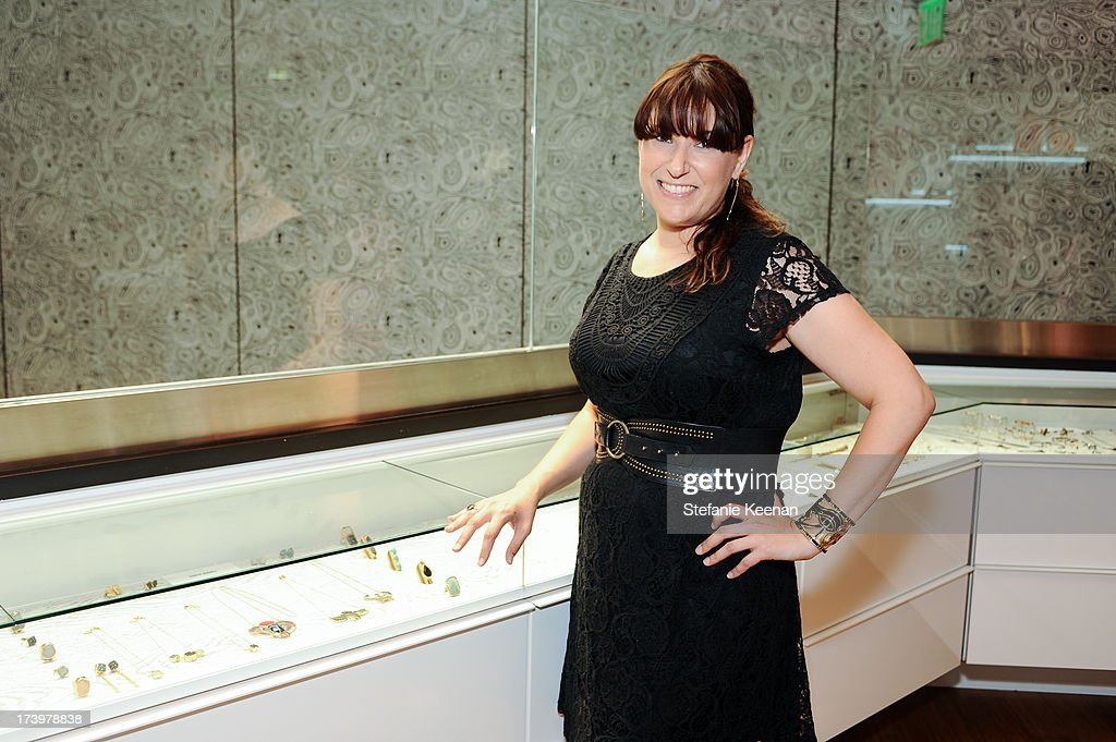 Robyn Rhodes attends JewelMint Celebrates The Launch Of Collective And Previews New Collections From Cher Coulter And CC Skye at on July 18, 2013 in Los Angeles, California.