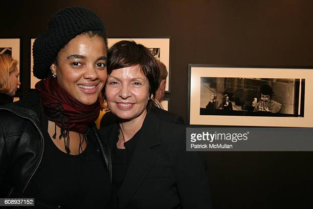 """Robyn V Fernandes and Christine De Lassus attend Chantal Stoman """"A Woman's Obsession"""" Photo Exhibition Opening Presented By CHANEL and FIAF at FIAF..."""