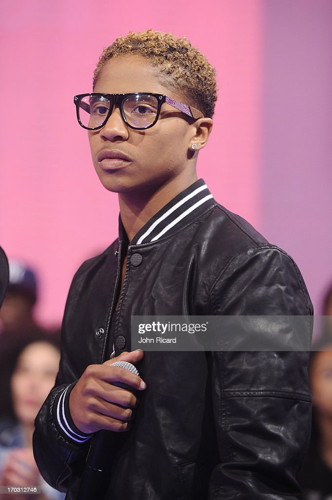 <a gi-track='captionPersonalityLinkClicked' href=/galleries/search?phrase=Roc+Royal&family=editorial&specificpeople=7301334 ng-click='$event.stopPropagation()'>Roc Royal</a> of Mindless Behavior at BET's '106 & Park' at BET Studios on June 10, 2013 in New York City.