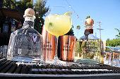 Roca Patron sponsor detail during Casa Vega Celebrates 60 Years on July 16 2016 in Los Angeles California