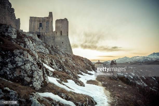 Rocca Calascio in Abruzzo, Provincia L'Aquila Italia