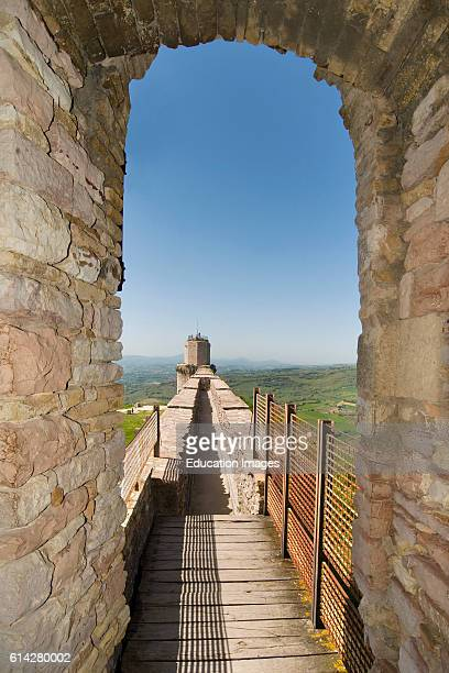 Rocca maggiore assisi umbria italia
