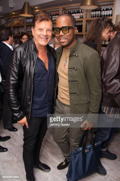 Rocco Amcarola and Antoine Von Boozier attend the Casita Opening Party on September 8 2017 in New York City