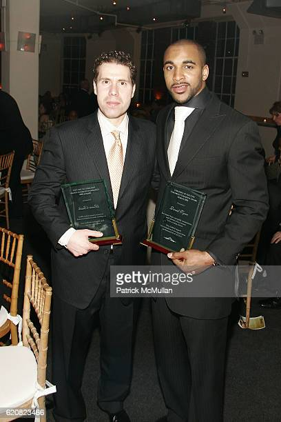 Rocco Basile and David Tyree attend CHILDREN OF THE CITY GALA Honoring DAVID TYREE and Hosted by RICHARD JEFFERSON with MC STEVE SCHIRRIPA at Tribeca...