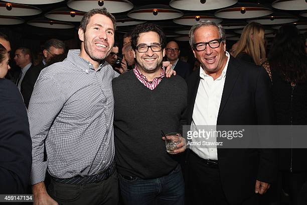 Rocco Basile Louis Tranese MD and Neal Sroka of Douglas Elliman attend DuJour Magazine's Jason Binn and Invicta Watches in the welcoming of Tony...