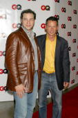Rocco DiSpirito and Jim Nelson during GQ Celebrates September Debut Issue Under New Editor and Chief Jim Nelson at Hudson Studios in New York New...