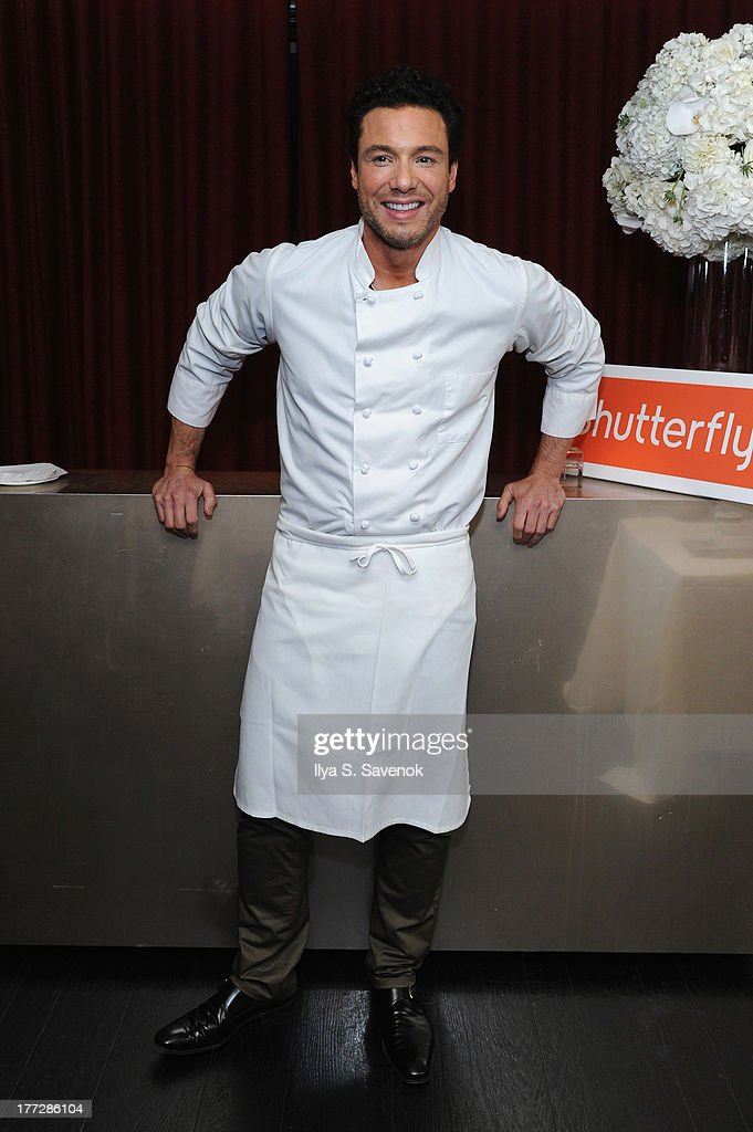 Rocco DiSpirito attends Shutterfly Photo Story for iPad dinner hosted by Rocco DiSpirito at SD26 on August 22, 2013 in New York City.