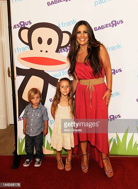 Rocco Reynolds Ruby Reynolds and Jillian Barberie attend the Paul Frank and Babies 'R' Us Launch Event at Beverly Hills Hotel on May 8 2012 in...