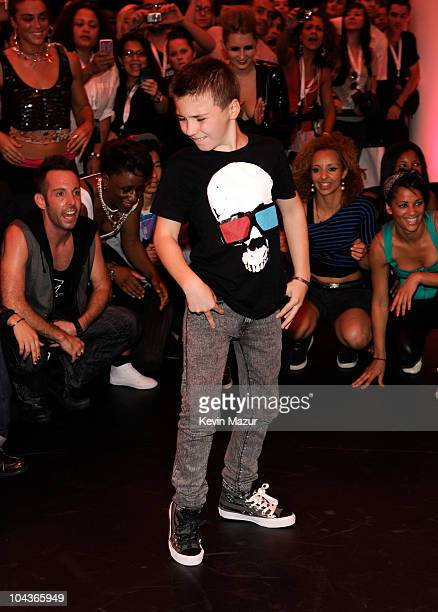Rocco Richie dances at the launch of 'Material Girl' at Macy's Herald Square on September 22 2010 in New York City