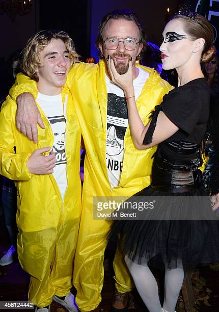 Rocco Ritchie Guy Ritchie and Jacqui Ainsley attend the Unicef UK Halloween Ball raising vital funds to help protect Syria's children from danger at...