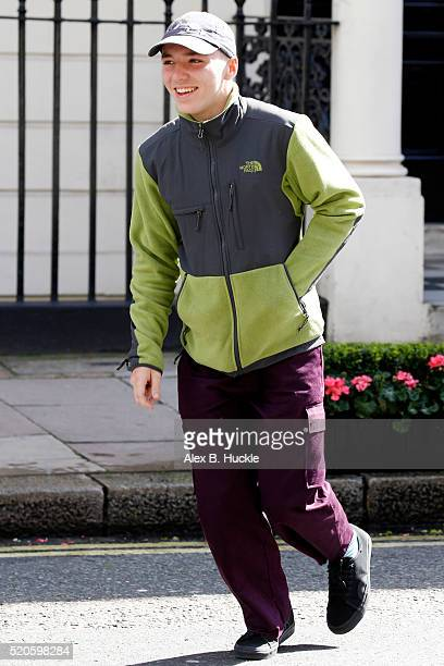 Rocco Ritchie seen heading out on April 12 2016 in London England