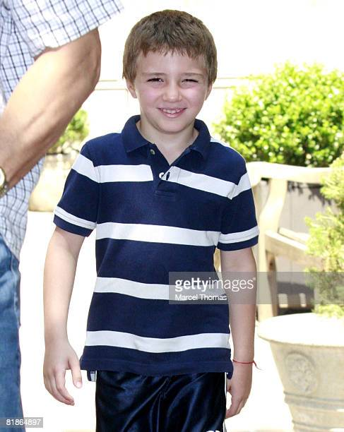 Rocco Ritchie sighting leaving his New York City residence on July 8 2008 in New York City