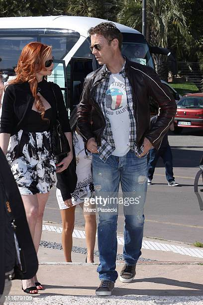 Rocco Siffredi arrives at the 'Marc Dorcel TV 5th anniversary' photocall during the MIPTV 2011 at Hotel Majestic beach on April 5 2011 in Cannes...