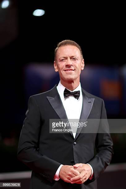 Rocco Siffredi attend s the premiere of 'Rocco' during the 73rd Venice Film Festival at Sala Perla on September 5 2016 in Venice Italy