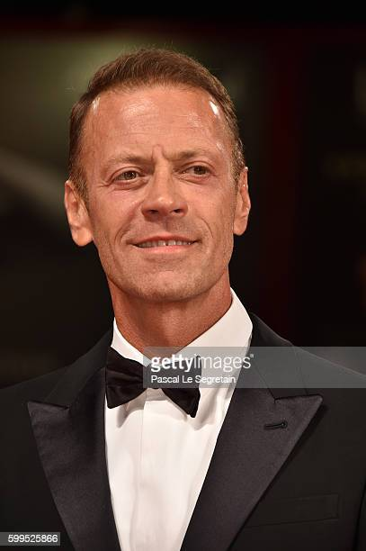 Rocco Siffredi attends the premiere of 'Rocco' during the 73rd Venice Film Festival at Sala Perla on September 5 2016 in Venice Italy