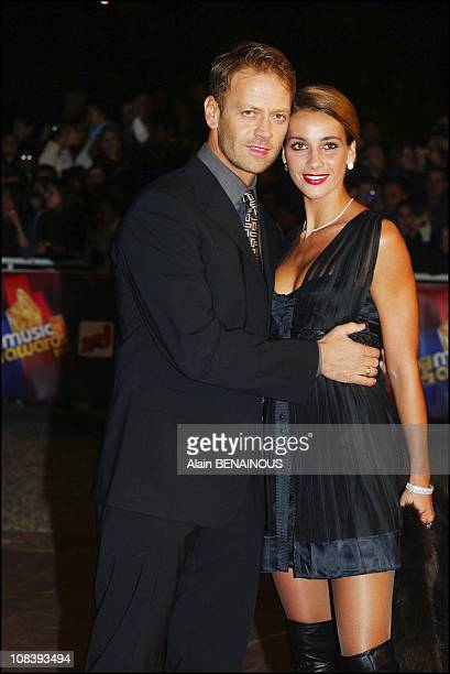 Rocco Sifredi and wife Rosa In Cannes France on January 24 2004