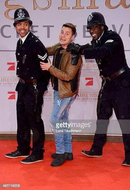 Rocco Stark attends 'Kingsman The Secret Service' German Premiere at CineStar on February 3 2015 in Berlin Germany