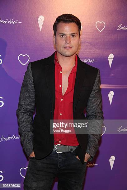 Rocco Stark attends the EIS Party at Soho Hotel on January 28 2016 in Berlin Germany