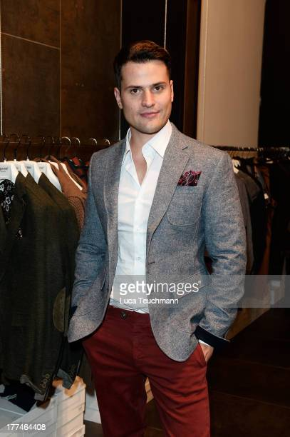 Rocco Stark attends the 'Leib Seele' Store Opening on August 23 2013 in Berlin Germany