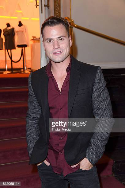 Rocco Stark attends the 'Sister Act The Musical' premiere Party at Stage Theater on October 16 2016 in Berlin Germany