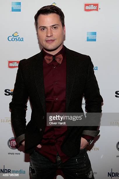 Rocco Stark poses during the event 'Movie Meets Media' at Hotel Atlantic on December 1 2014 in Hamburg Germany