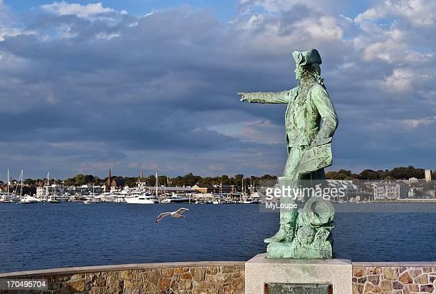 Rochambeau overlooking Newport harbor Rhode Island United States