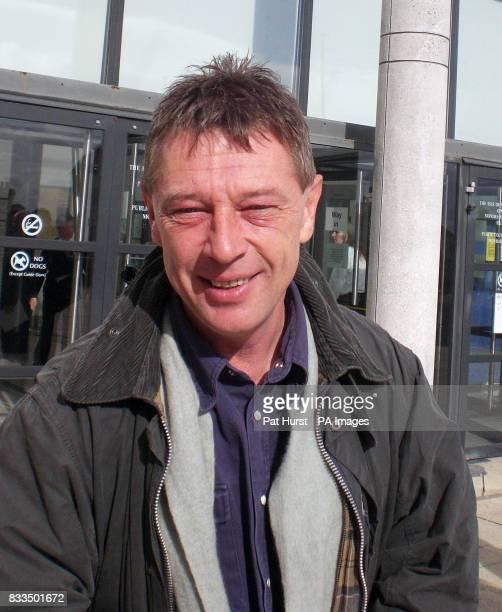 Rochdale DJ Andy Kershaw outside the Deputy High Bailiff's Court in Douglas Isle of Man