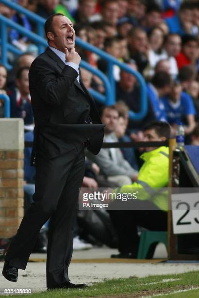 Rochdale's manager Keith Hill during the CocaCola Football League Two Play Off Semi Final Second Leg match at the KRBS Priestfield Stadium Gillingham