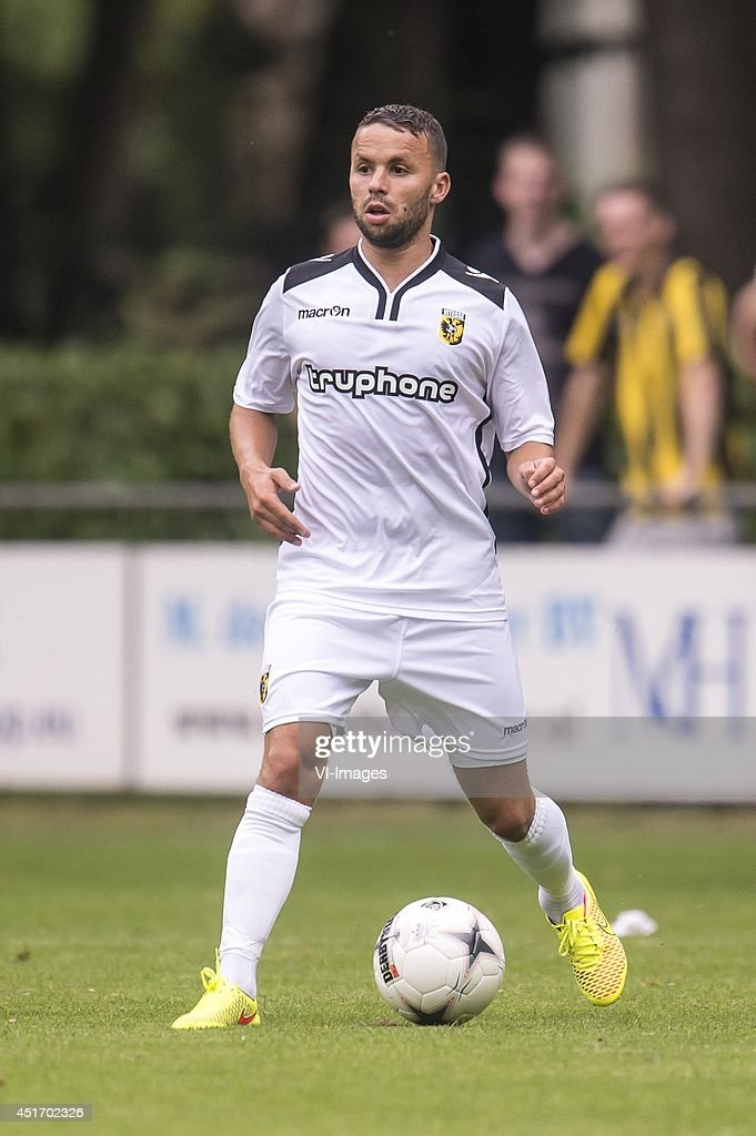 Rochdi Achenteh of Vitesse during the friendly match between Vitesse and Cercle Brugge on July 4, 2014 at Sportpark Loenermark at Loenen, The Netherlands.