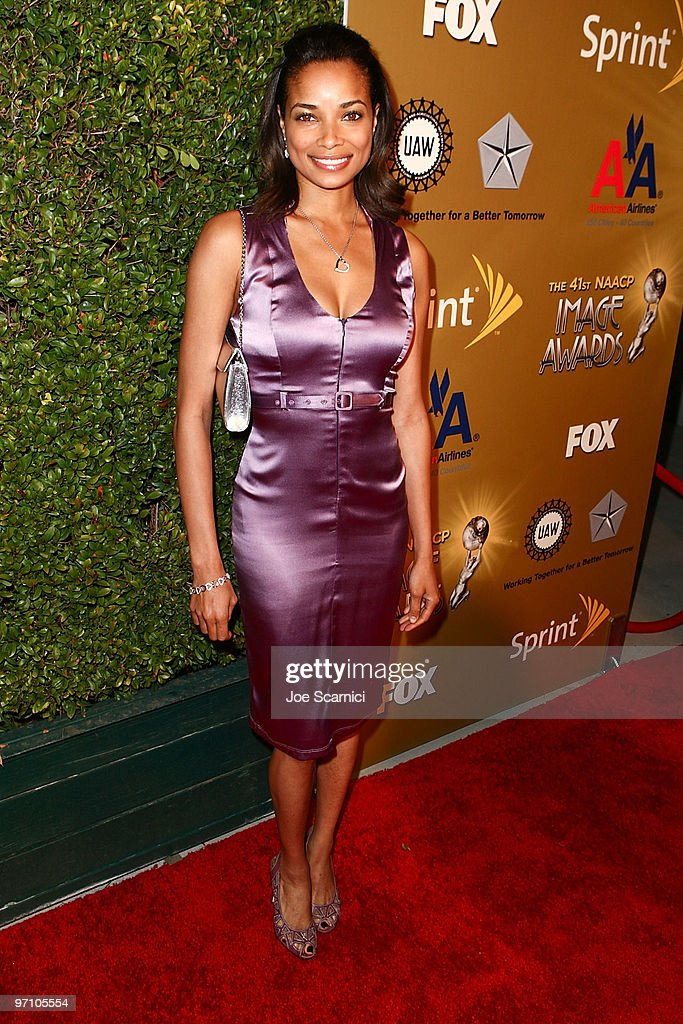 Rochelle Aytes arrives at the 41st NAACP Image Awards Nominees PreShow Gala Reception at Milk Studios on February 25 2010 in Los Angeles California