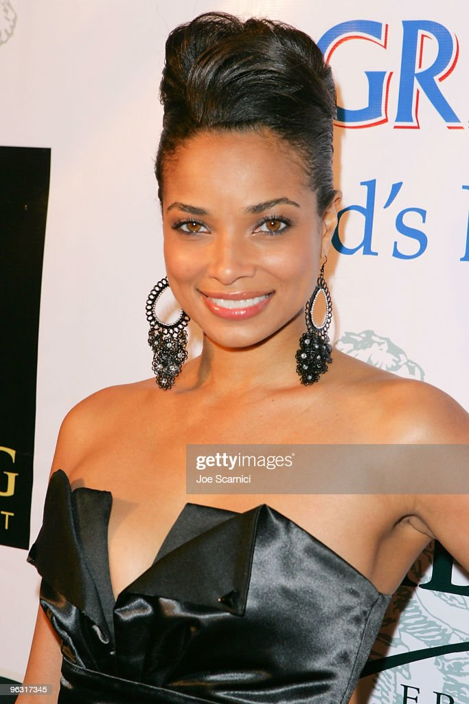 Rochelle Aytes arrives at the Jamie Foxx Post Grammy Event at The Conga Room at LA Live on January 31 2010 in Los Angeles California
