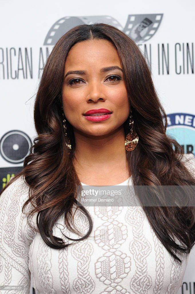 Rochelle Aytes attends the African American Women In Cinema's 'Seasons Of Love' Screening at Chelsea Bow Tie Cinemas on November 19 2014 in New York...