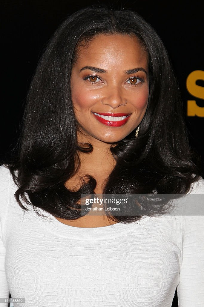 <a gi-track='captionPersonalityLinkClicked' href=/galleries/search?phrase=Rochelle+Aytes&family=editorial&specificpeople=843599 ng-click='$event.stopPropagation()'>Rochelle Aytes</a> attends the J. Cole Performs At Footaction's 'Own The Stage' Celebration at W Hollywood on October 19, 2012 in Hollywood, California.