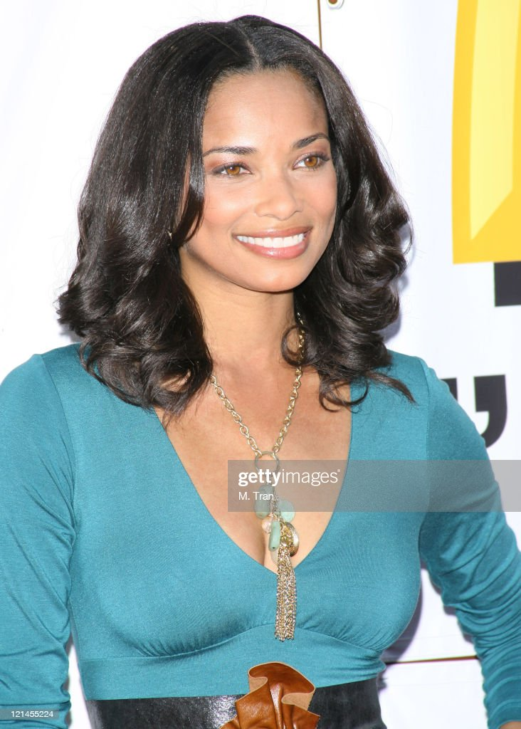 Rochelle Aytes during 21st Annual Soul Train Music Awards Arrivals at Pasadena Civic Auditorium in Pasadena California United States