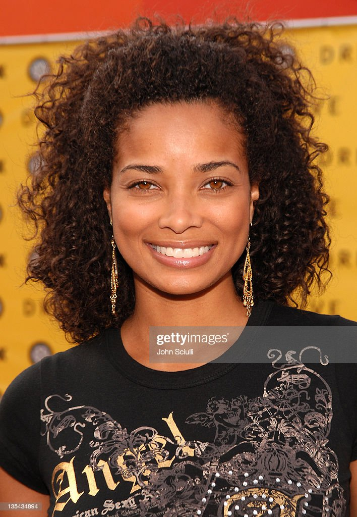 Rochelle Aytes during FOX Hosts 'Drive Roadside Challenge' at Universal City Walk in Universal City California United States