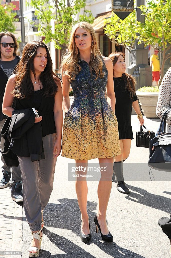 Rochelle Aytes is sighted at The Grove on May 14, 2013 in Los Angeles, California.