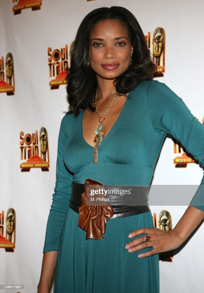 Rochelle Aytes presenter during 21st Annual Soul Train Music Awards Press Room at Pasadena Civic Center in Pasadena California United States