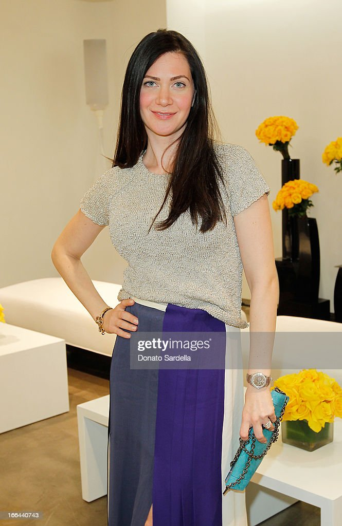 Rochelle Gores attends Saks Fifth Avenue presents Peter Pilotto at Saks Fifth Avenue Beverly Hills on April 12, 2013 in Beverly Hills, California.