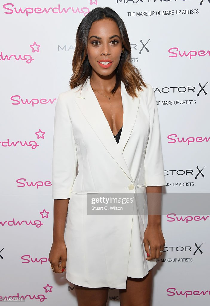 "Rochelle Humes launches new Max Factor ""Poolside Glamour"" look at Superdrug"