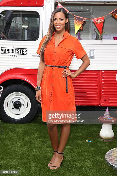 Rochelle Humes at the X Factor auditions at Wembley Arena on July 16 2015 in London England