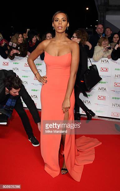 Rochelle Humes attends the 21st National Television Awards at The O2 Arena on January 20 2016 in London England