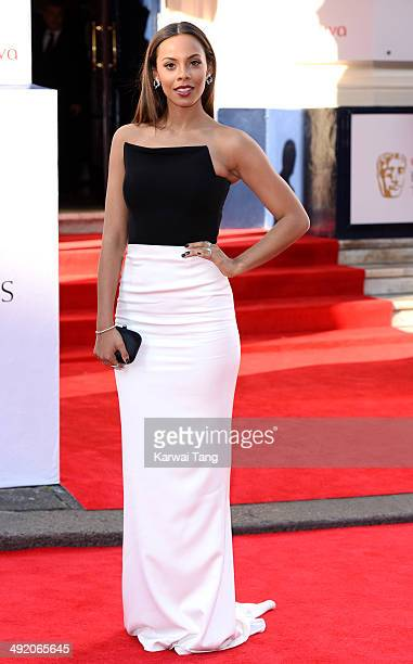 Rochelle Humes attends the Arqiva British Academy Television Awards held at the Theatre Royal on May 18 2014 in London England