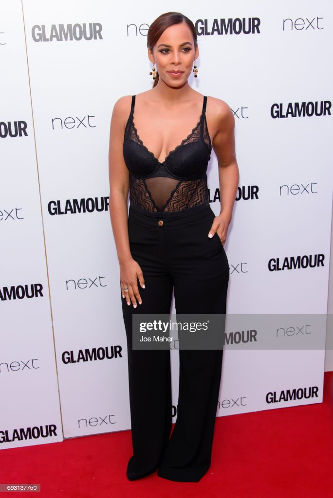 Rochelle Humes attends the Glamour Women of The Year awards 2017 at Berkeley Square Gardens on June 6, 2017 in London, England.