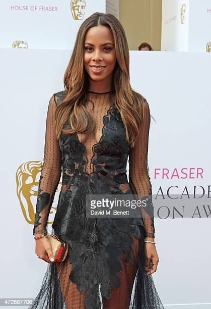 Rochelle Humes attends the House of Fraser British Academy Television Awards at Theatre Royal Drury Lane on May 10 2015 in London England